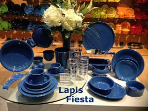 The New Fiestaware Color Lapis Offered By Homer Laughlin