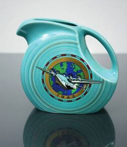 FIESTA turquoise JUICE PITCHER